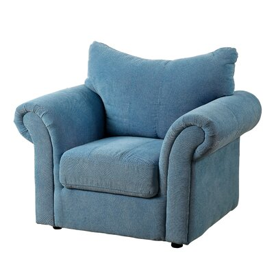 Youth Armchair Color: Blue