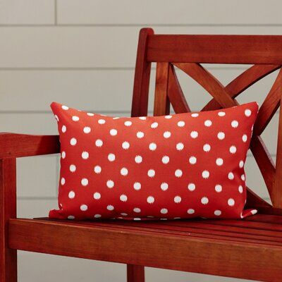 Telly Outdoor Lumbar Pillow Fabric: Orange