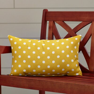 Telly Indoor/Outdoor Lumbar Pillow Fabric: Citrus