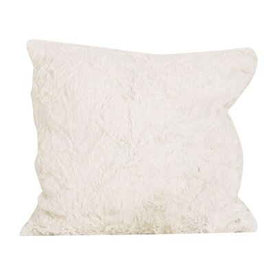 Sadie Faux Fur Throw Pillow