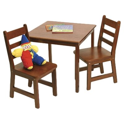 Alexa Kids' 3 Piece Table and Chair Set VVRO2665 28234975