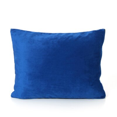Dudley Throw Pillow Color: Blue