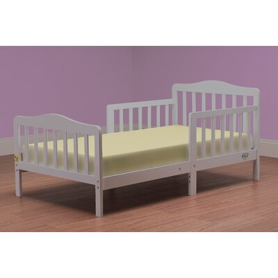 Convertible Toddler Bed Finish: Gray
