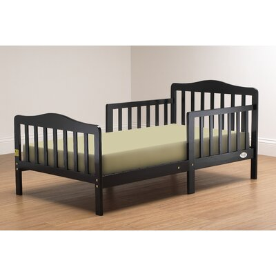 Convertible Toddler Bed Finish: Black