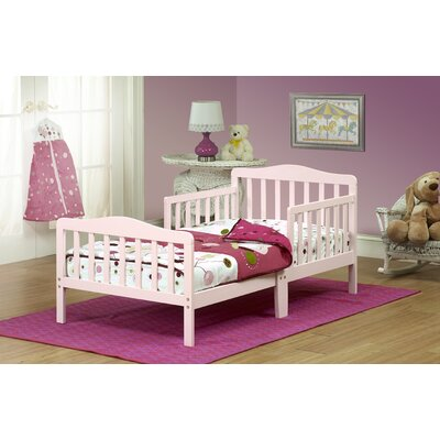 Convertible Toddler Bed Finish: Pink