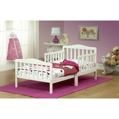 Convertible Toddler Bed Finish: White