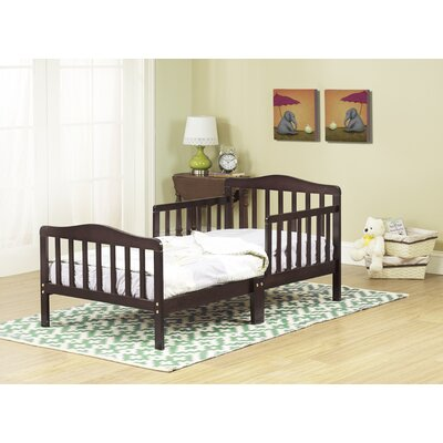 Convertible Toddler Bed Finish: Espresso