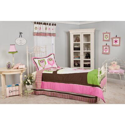Perseus Owl 3 Piece Twin Bed-In-a-Bag Set