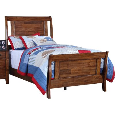 Reginald Sleigh Bed Size: Twin