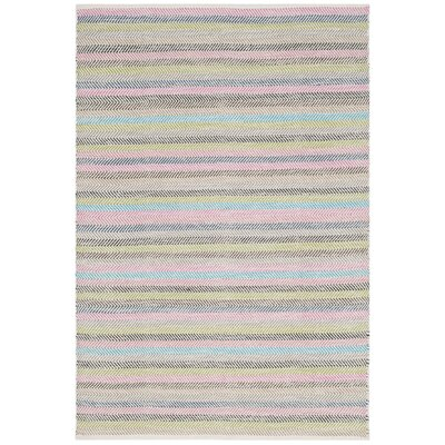 Sardis Hand-Woven Light Gray Area Rug Rug Size: Rectangle 4 x 6