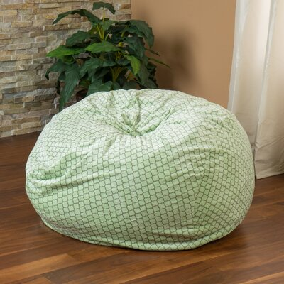 Geometric Bean Bag Chair