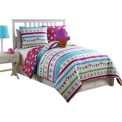 Rand 3 Piece Comforter Set Size: Twin