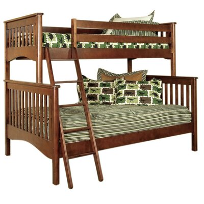 Bonneau Twin over Full Bunk Bed Color: Cherry