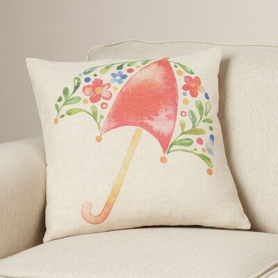 Chuck Umbrella Throw Pillow