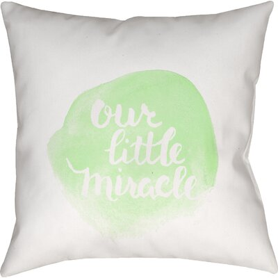 Gianna Indoor/Outdoor Throw Pillow Size: 20 H x 20 W x 4 D, Color: Green