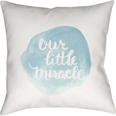 Gianna Indoor/Outdoor Throw Pillow Size: 18 H x 18 W x 4 D, Color: Blue