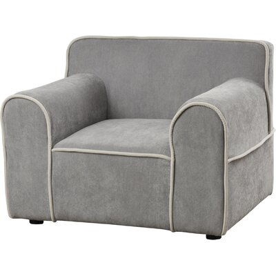 Youth Arm Chair Color: Gray