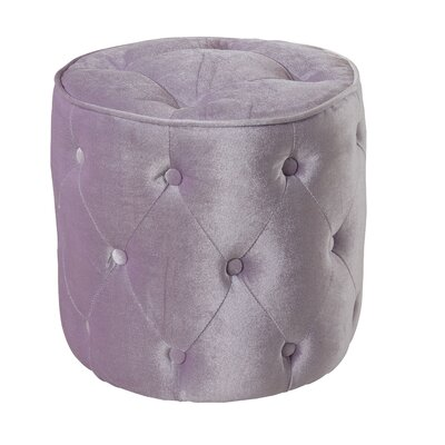 Blair Pouf Color: Lavender
