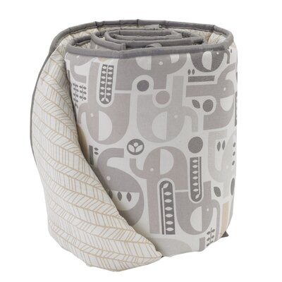 baby gifts store - Lolli Living Elephant Print Bumper - Cot Bedding Accessories Baby Bedding