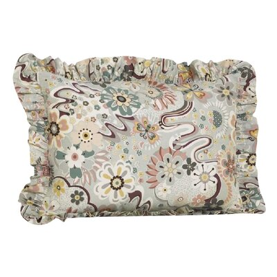 Pavo Ruffled Pillow Sham