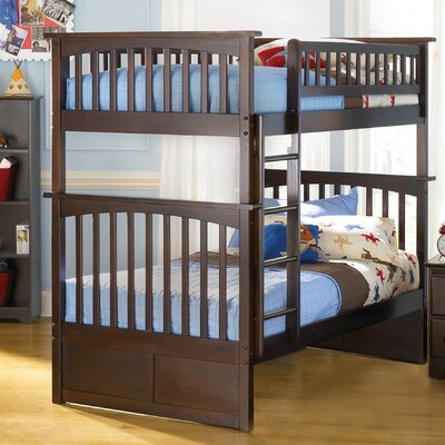 Henry Bunk Bed Configuration: Full over Full, Finish: Caramel Latte