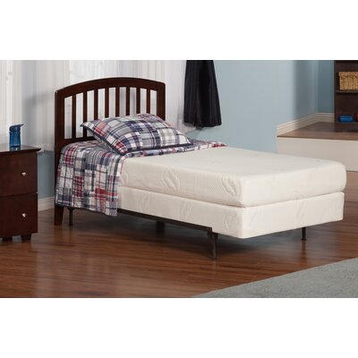 Timmy Slat Headboard Color: Caramel Latte, Size: Full
