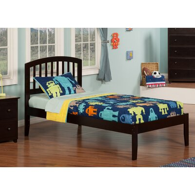 Timmy Extra Long Twin Slat Bed Finish: Espresso