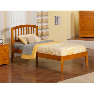 Timmy Extra Long Twin Slat Bed Finish: Caramel Latte