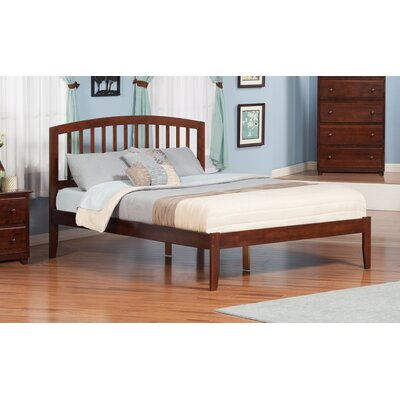 Timmy King Platform Bed Color: Antique Walnut