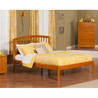 Timmy King Platform Bed Color: Caramel Latte
