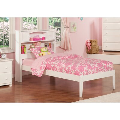 Greyson Platform Bed Color: White, Size: Twin