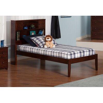 Greyson Platform Bed Color: Antique Walnut, Size: Twin