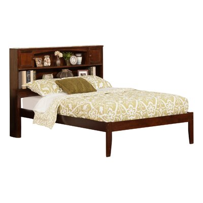 Greyson Platform Bed Color: Antique Walnut, Size: Full