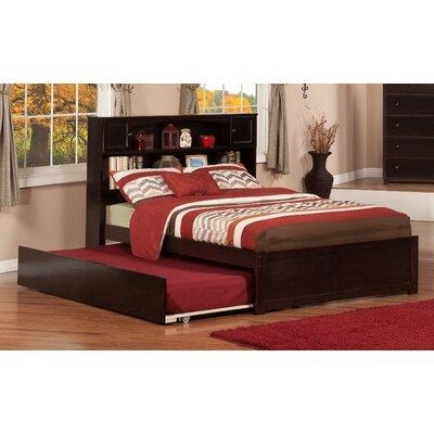 Greyson Platform Bed with Trundle Color: Espresso, Size: Full