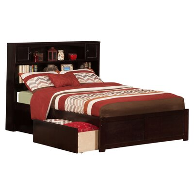 Greyson Mates & Captains Bed with Storage Color: Espresso, Size: Full