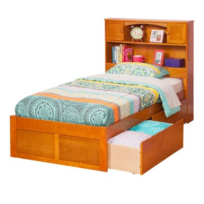 Greyson Mates & Captains Bed with Storage Finish: Caramel Latte, Size: Twin