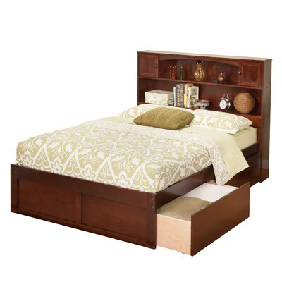 Greyson Mates & Captains Bed with Storage Size: Twin, Finish: Antique Walnut