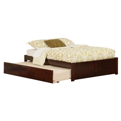 Greyson Platform Bed with Trundle Finish: Espresso, Size: Full