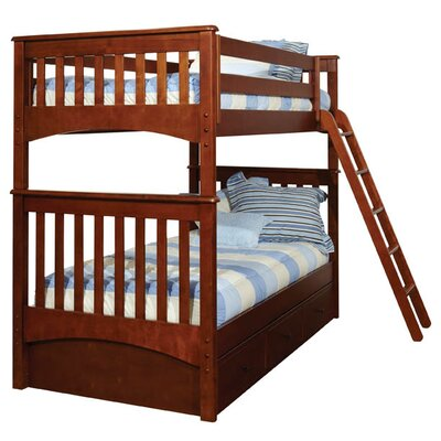 Bonneau Twin Bunk Bed with Storage