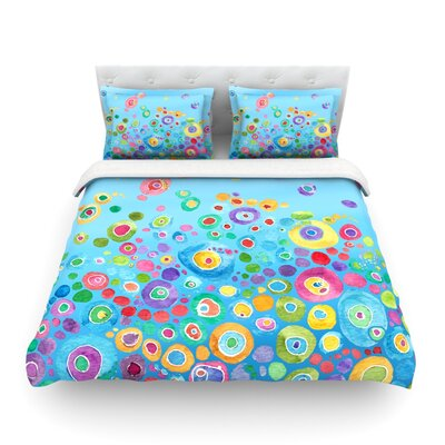 Featherweight Duvet Cover Size: Twin, Color: Blue