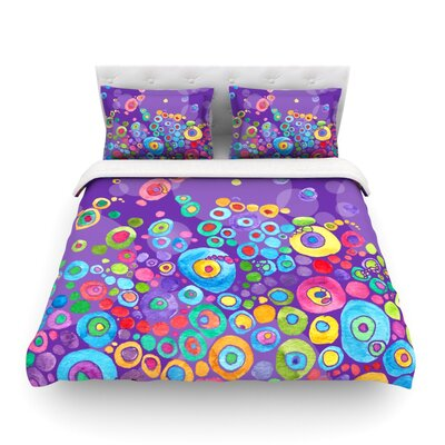 Featherweight Duvet Cover Size: Queen, Color: Purple