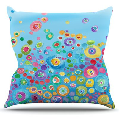 Sandy Cotton Blend Throw Pillow