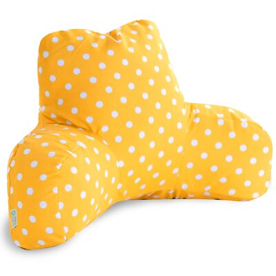 Telly Indoor/Outdoor Bed Rest Pillow Color: Citrus