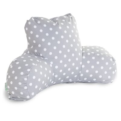 Telly Indoor/Outdoor Bed Rest Pillow Color: Gray