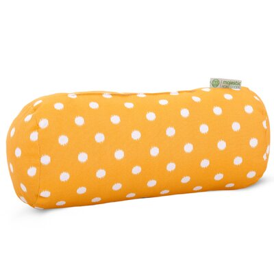 Telly Indoor/Outdoor Round Bolster Pillow Color: Citrus