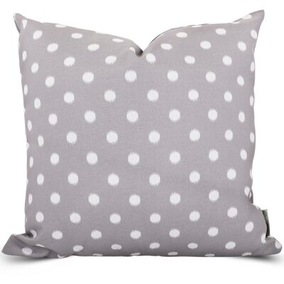 Telly Indoor/Outdoor Throw Pillow Size: Large, Fabric: Gray
