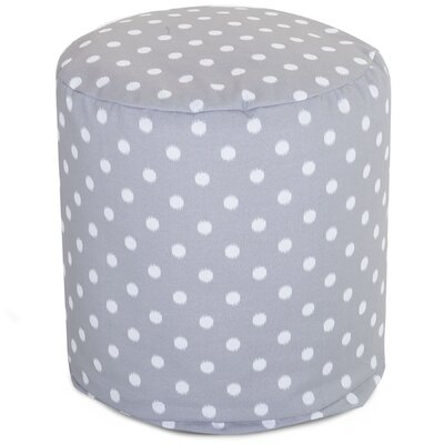 Telly Ottoman Fabric: Gray