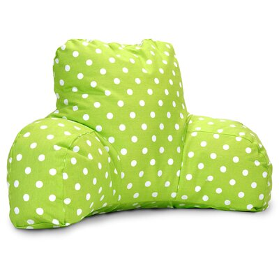 Telly 100% Cotton Bed Rest Pillow Color: Lime