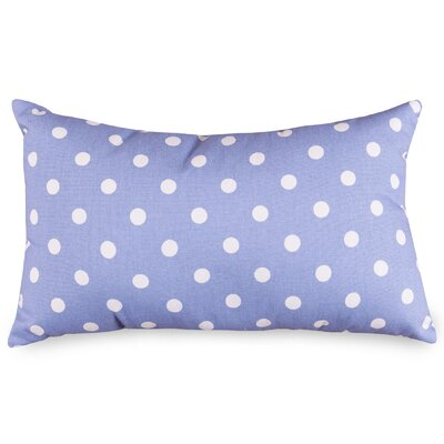 Telly Polyester/Polyester blend Small Lumbar Pillow Color: Lavender