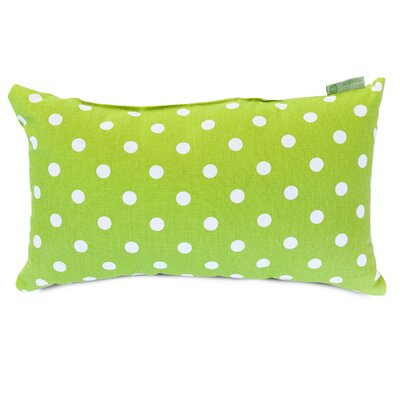 Telly Polyester/Polyester blend Small Lumbar Pillow Color: Lime